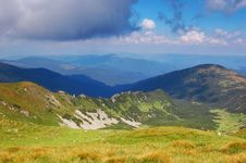 Free Summer Landscape In The Mountains Royalty Free Stock Photos - 29980548