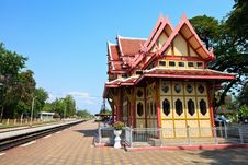 Free Railway Station In Hua Hin, Thailand. Stock Image - 29982121