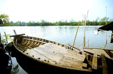 Free Asia Boat Stock Image - 29983451