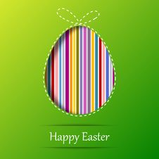 Free Easter Egg. Greeting Card Stock Photography - 29986322