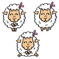 Free Funny Sheeps Royalty Free Stock Images - 29999099