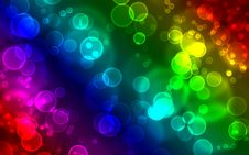 Free Colorful Abstract Bubbles Background Royalty Free Stock Photo - 29994825