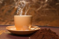 Free Coffee  S Cup Royalty Free Stock Photography - 29996327
