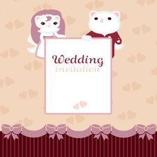 Free Wedding Invitation Stock Photography - 29997242