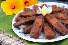 Free Dry Banana Royalty Free Stock Photo - 29998555
