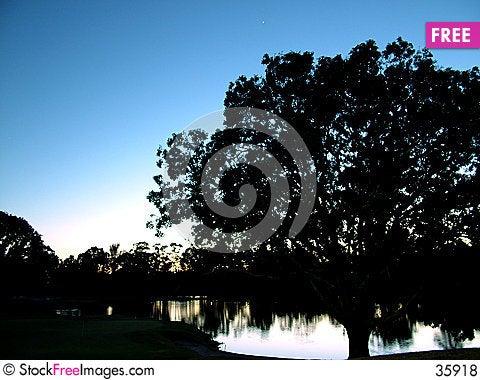 Free Dawn At The Golf Club Royalty Free Stock Photos - 35918