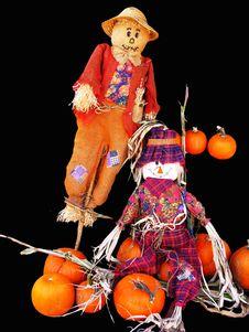 Halloween Stuff Royalty Free Stock Photography