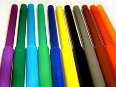 Free Coloring Pensil Stock Photo - 32740
