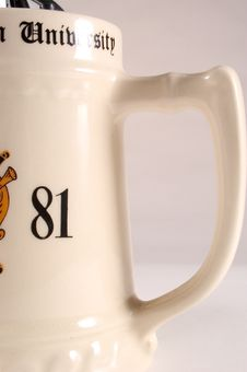 Mug Detail Royalty Free Stock Images