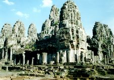 Free The Bayon Complex In Angkor, Cambodia Royalty Free Stock Photo - 34895