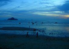 Free Blue Mystic Sunset Stock Images - 35754