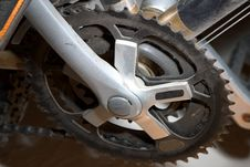Free Pedal Gear Of A Bicycle Royalty Free Stock Photos - 36328