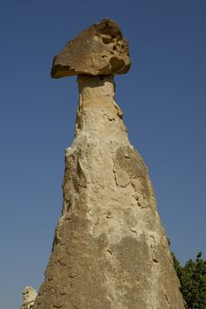 Free Face Stone At Cappadocia Royalty Free Stock Photography - 38507
