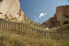 Free Barriers At Cappadocia Stock Image - 38671