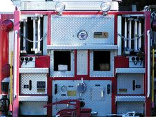 Free Business End Of Fire Truck Royalty Free Stock Photos - 39258