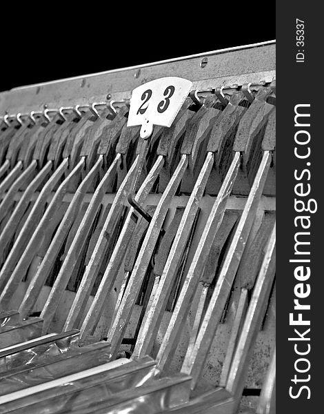 Accordion B&W