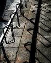 Free Shadowplay On Bike Stand Stock Photos - 307593