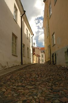 Free Old Street In Tallin Stock Photos - 301133