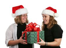 Free Office Gift Exchange Stock Image - 301351