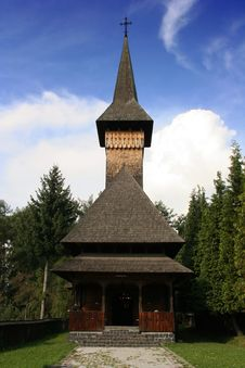 Free Wooden Church Stock Photography - 301512