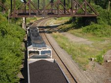 Free Above The Coal Train Stock Image - 304271