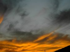Free Coudy Weather Sunset Stock Photography - 304932