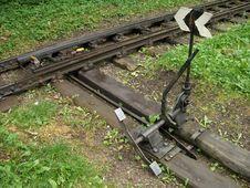 Free Railway Switch Stock Photo - 305260