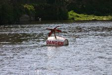 Free Danger Buoy On River Dee Stock Image - 305261