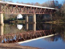Free Reflection Of A Bridge Stock Image - 306671