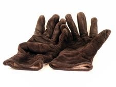 Free Reclining Gloves Royalty Free Stock Photo - 306735