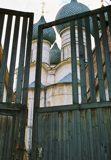 Free Gate And Church Stock Photos - 306943