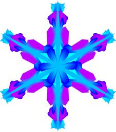 Free Snowflake Royalty Free Stock Photography - 307217