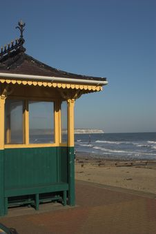 Free Beach Shelter Overlooking The Sea Stock Photos - 307253