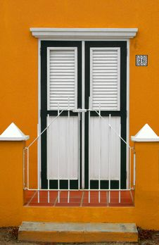 Free Tropical Front Door Stock Images - 307384