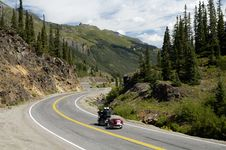 Free Scenic Mountain Highway Royalty Free Stock Photos - 308108