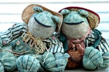 Free Frog Ragdolls Couple Stock Photos - 309223