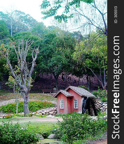Lone cottage