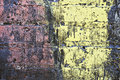 Free Grunge Painted Brick Wall Royalty Free Stock Images - 3005679