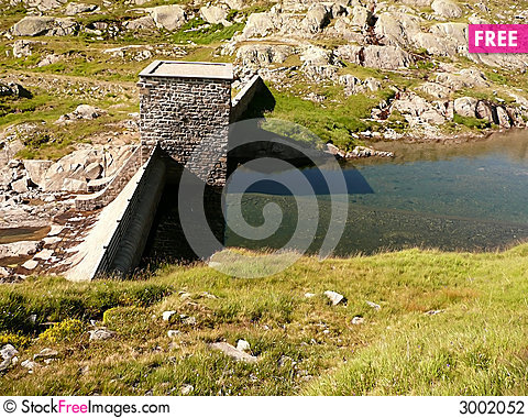 Free Dam And Water Reflection 1 Stock Photography - 3002052