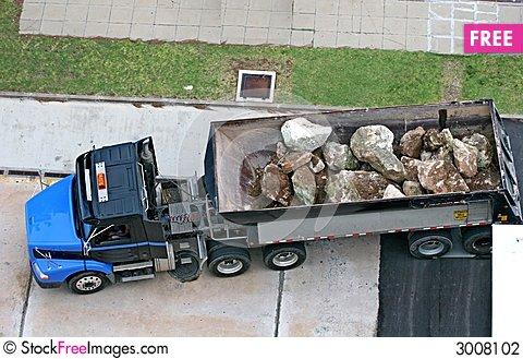 Free Boulder Truck Stock Photography - 3008102