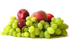 Free Many Fruits On White Stock Images - 3000194