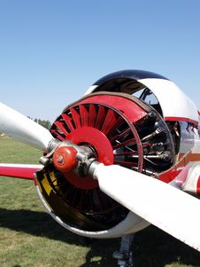 Free Airplane Engine Stock Image - 3000621
