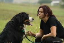 Free Woman And Dog Stock Images - 3000704