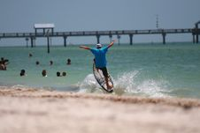 Free Flying Surfer Stock Photos - 3001313