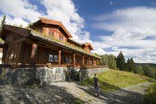 Norwegian House. Royalty Free Stock Photo