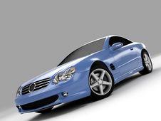 Free Mercedes SL 500 Stock Image - 3002511