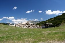 Free Mountain Scene Stock Image - 3003161