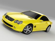 Free Mercedes SL 500 Royalty Free Stock Photography - 3003297