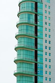 Free Modern Glass Building Royalty Free Stock Photography - 3003337