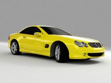 Free Mercedes SL 500 Royalty Free Stock Images - 3003449
